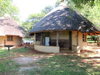 Typical lodging in KNP